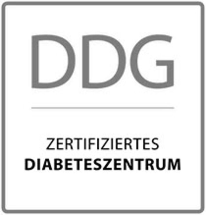 Siegel der DDG Diabeteszentrum