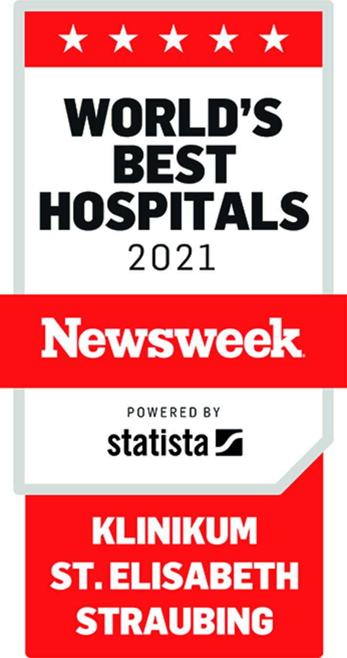 World's Best Hospital Siegel der Zeitschrift Newsweek
